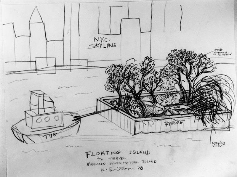 Floating Island Sketch