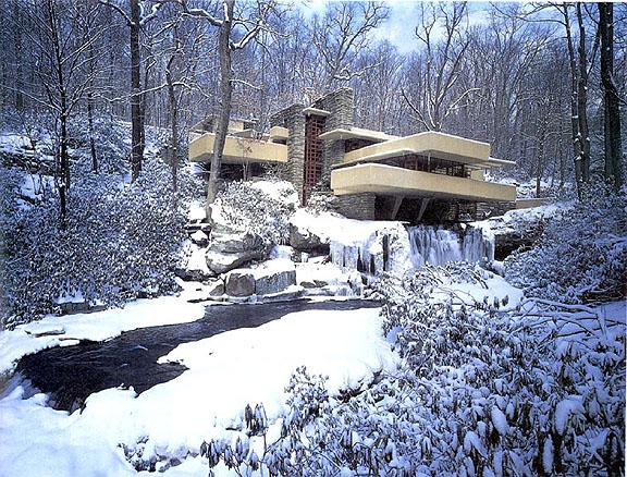 Fallingwater in Winter