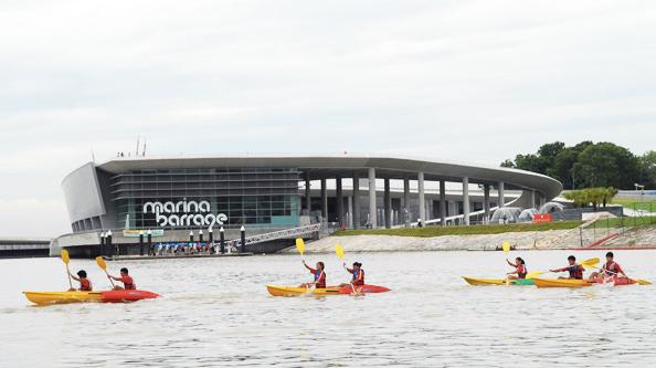 Singapore's Marina Barrage