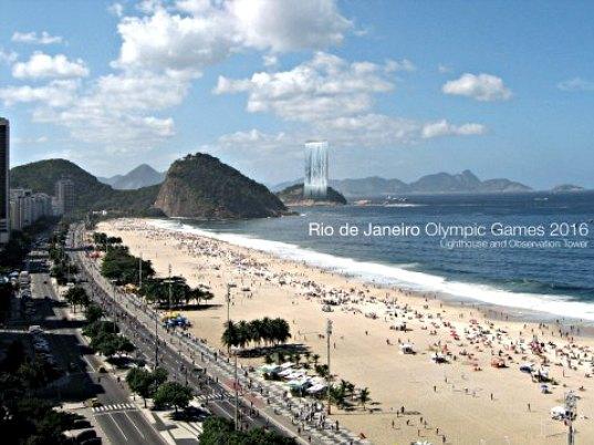 View of Solar Tower City from Rio de Janeiro