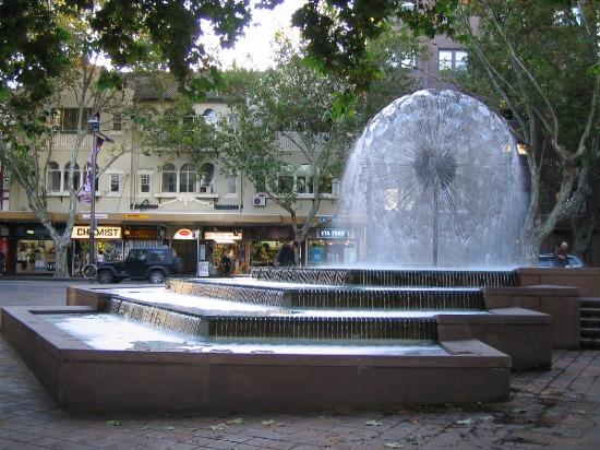 Australia's WWII Monument Fountain