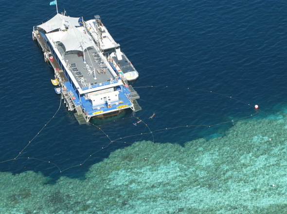 Floating Great Barrier Reef Hotel
