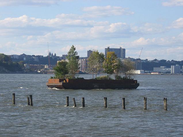 Floating Island Barge NYC