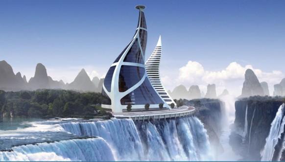 Ship Waterfall