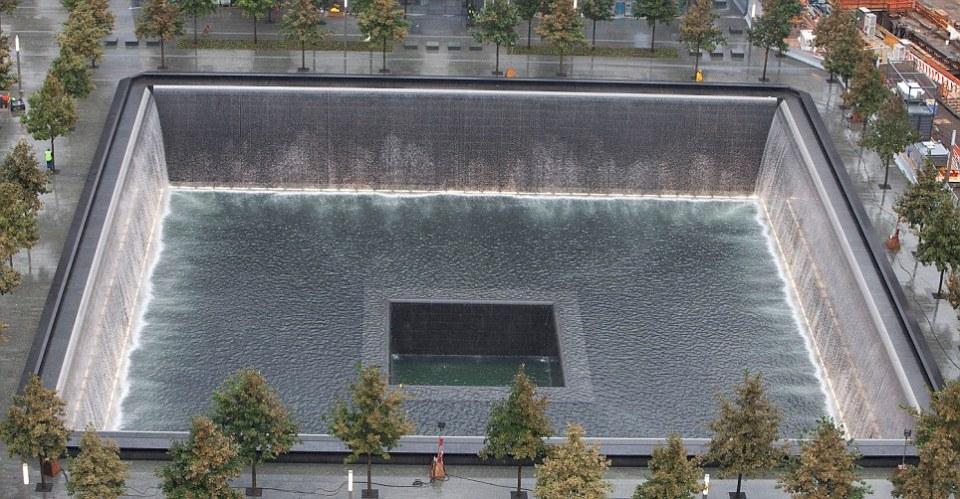 9/11 Memorial Aerial View