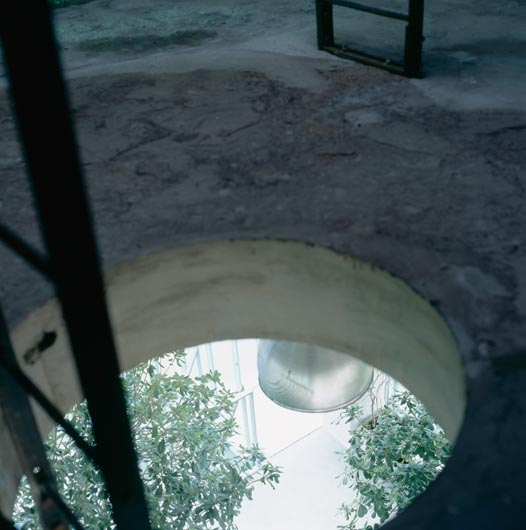Hole into Water Tower