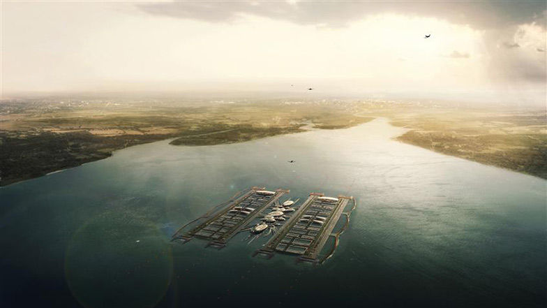 London Floating Airport