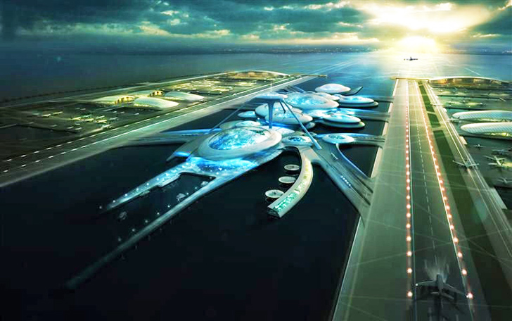 Gensler Floating Airport Travel