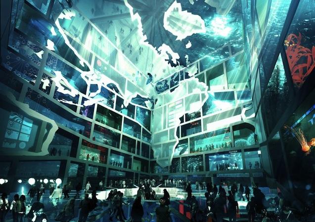Water Cube for Korea's World Expo