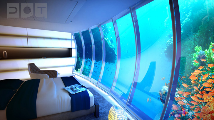Underwater Dubai Hotel