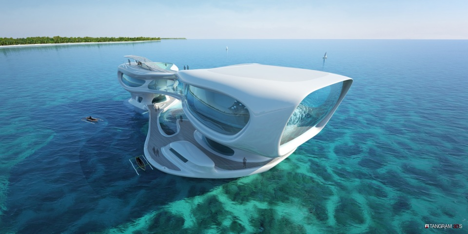Floating Research Facility in Bali