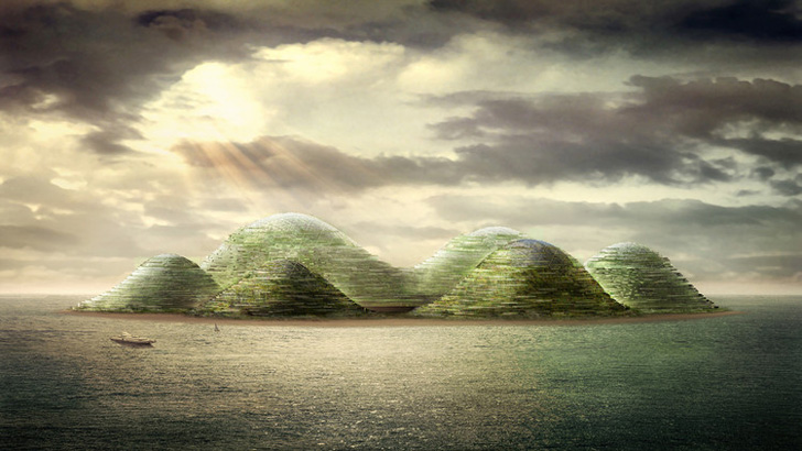 Dror Benshertit's Manmade Island