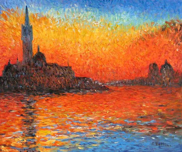 Claude Monet Complementary Colors