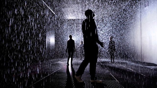 Rain Room Random International