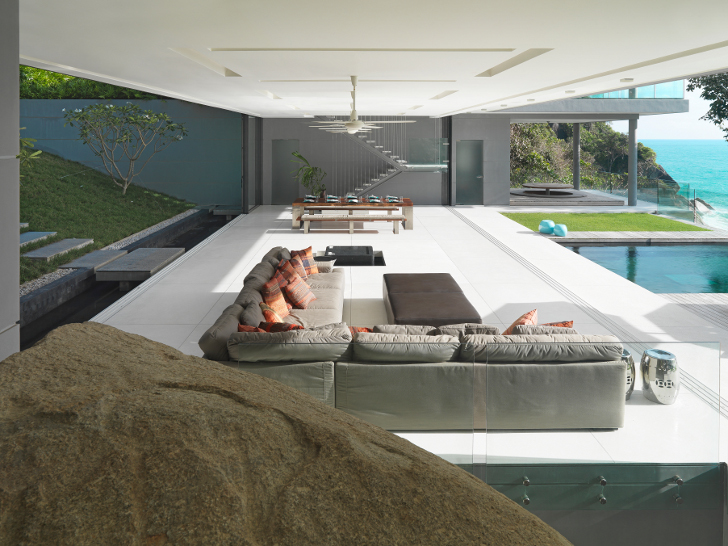 Villa Amanzi Living Space