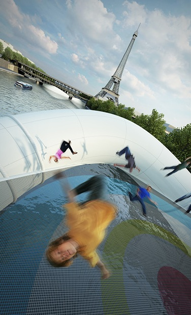 Trampoline Bridge Concept Art