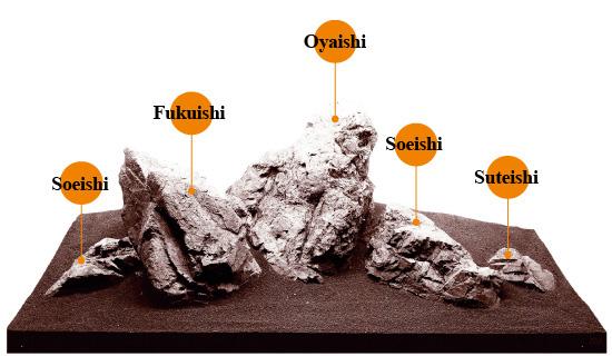 Iwagumi Stone Types