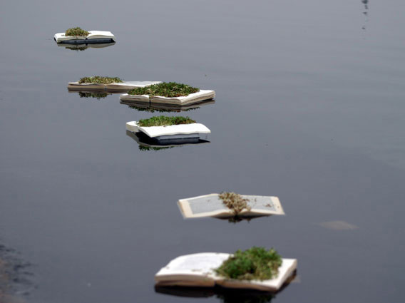 Floating Books by Selina Swayne