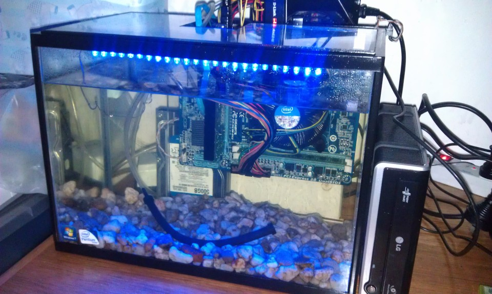 Water-Cooled Computer System