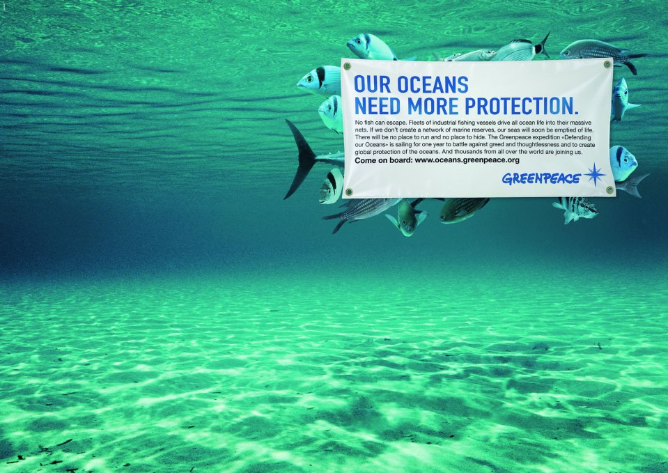 Greenpeace Protect our Oceans