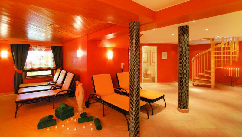 Orange Relaxation Room