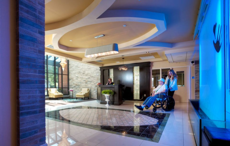 Lobby with Waterwall