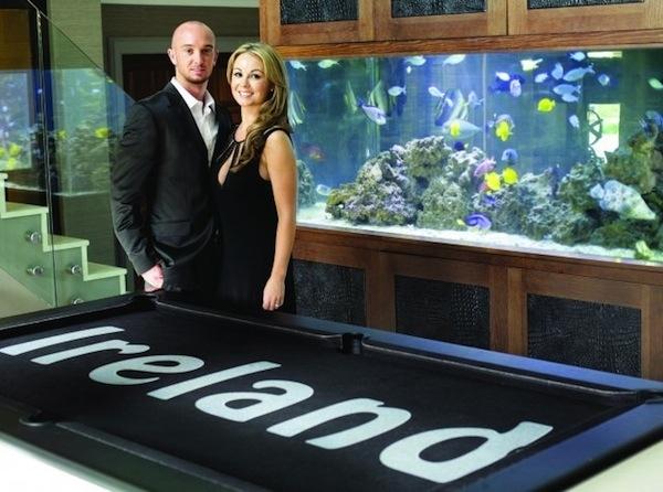 Stephen Ireland Home Aquarium