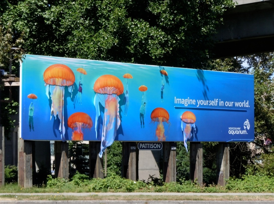 Aquarium Billboard