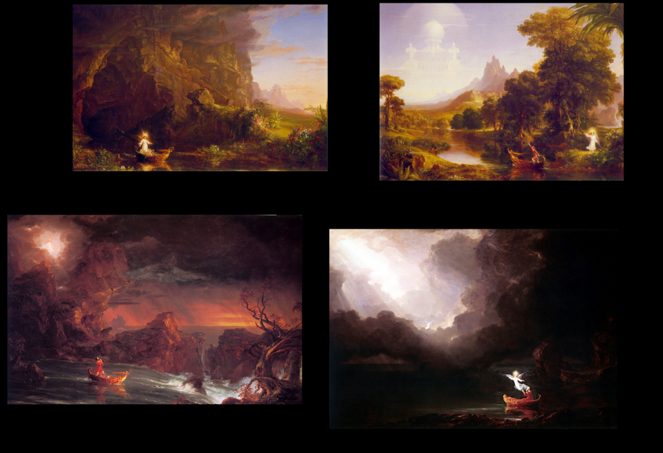 Voyage of Life Paintings