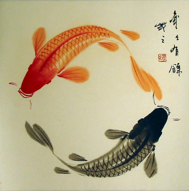 Japanese Fish Artwork
