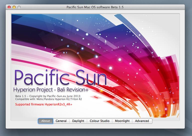Pacific Sun Aquarium Control System