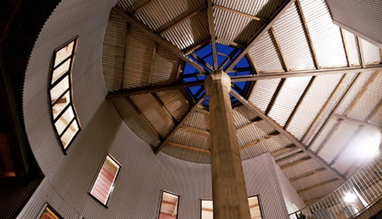 Water Tower House Interior