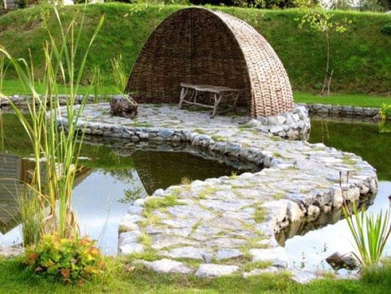 Backyard Pond Aquascape