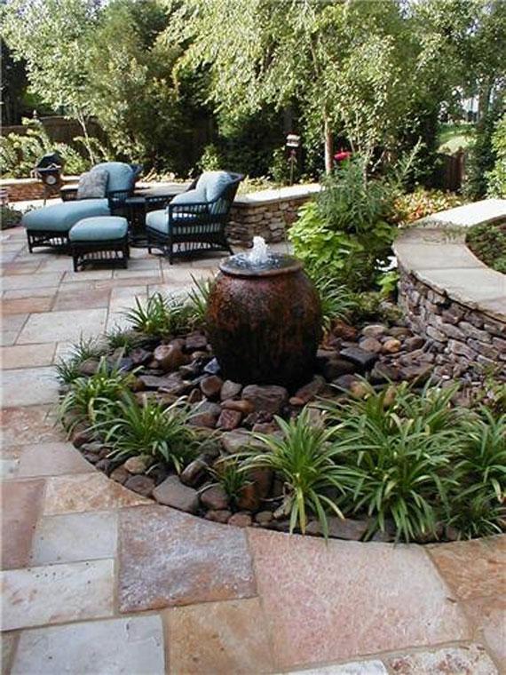 Small Fountain Aquascape