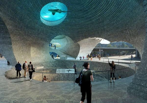 Ozeanium Aquarium Interior