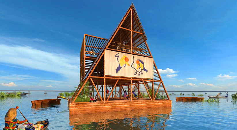 African Floating School